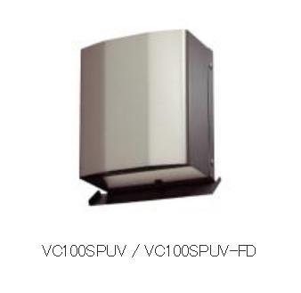 【最安値挑戦中!最大34倍】マックス VC100SPUV-FD 換気口 Φ100 深型 防音仕様 シルバー 防火ダンパー付(72℃)