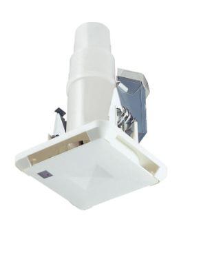【最安値挑戦中!最大25倍】マックス ES-50KSW3-CX 角型給気グリル ストレート・直 「プラズマクラスター」技術搭載 風量調節機能付 色=白