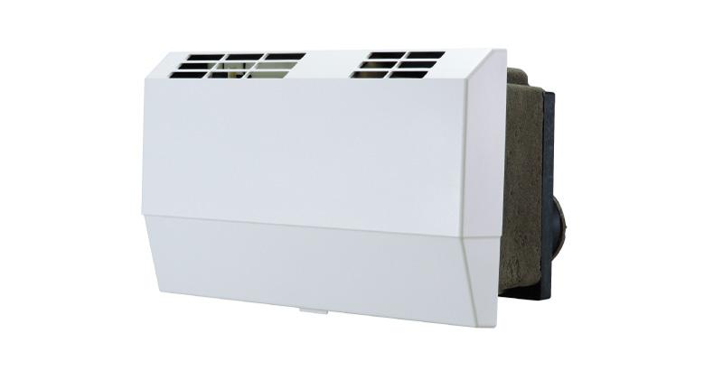 【最安値挑戦中!最大24倍】マックス ES-U12D1 全熱交換型24時間換気システム 1室タイプ 色調=白