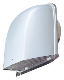【最安値挑戦中!最大25倍】メルコエアテック AT-300FNA4 深形フード(ワイド水切タイプ) 外壁用(アルミ製) 接続口サイズφ300網 [$$]¢≠