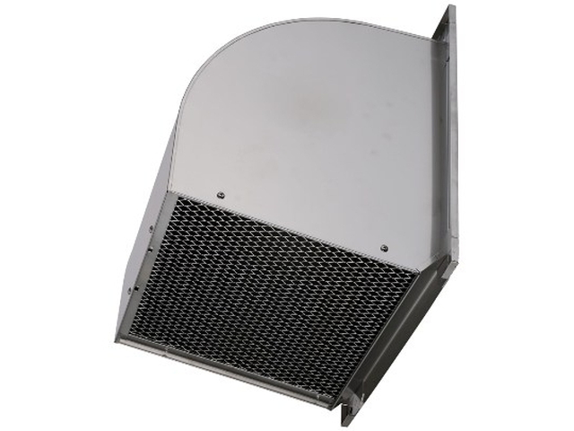 【最安値挑戦中!最大34倍】三菱 W-40SBM 有圧換気扇用ウェザーカバー ステンレス 防虫網標準装備 40cm用[♪$]