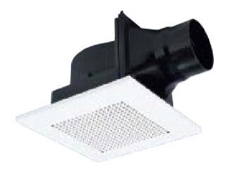 【まいどDIY】換気扇 三菱 VD-10ZLC11-S ダクト用換気扇 天井埋込形 サニタリー用 低騒音形 [■]