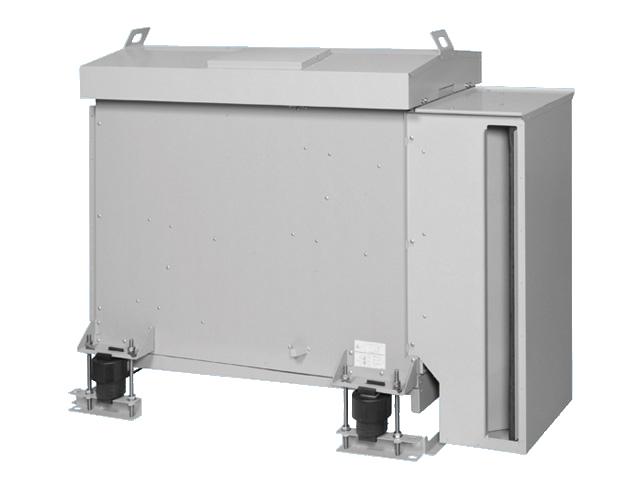 【最安値挑戦中!最大25倍】換気扇 パナソニック FY-28CCM3 消音ボックス付送風機 キャビネットファン 屋外形 ステンレス製・床置き形 大風量タイプ 三相 200V(50/60Hz) [♪◇]