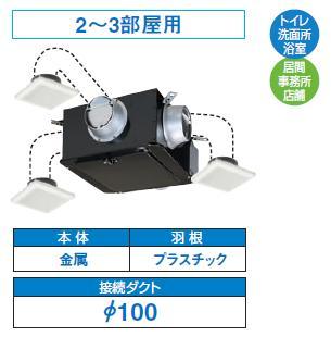 【最安値挑戦中!最大23倍】換気扇 東芝 DVC-18T1 ダクト用換気扇 中間取付タイプ [■]