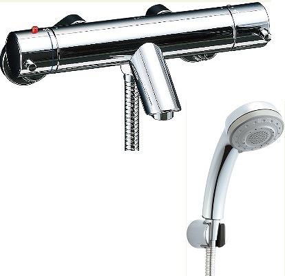 【最大44倍スーパーセール】水栓金具 INAX BF-E147TSB シャワーバス 洗い場専用 サーモスタット eモダン 逆止弁付 一般地 [□]