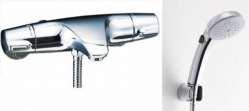 【最安値挑戦中!最大34倍】水栓金具 INAX BF-J147TSCW シャワーバス 洗い場専用 サーモスタット ジュエラ 逆止弁付 一般地 [□]