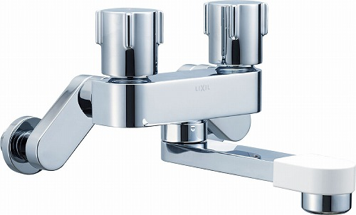 【最安値挑戦中!最大34倍】水栓金具 INAX BF-WD405 浴室用 壁付タイプ 一般水栓 2ハンドル混合水栓 一般地・寒冷地共用 [□]