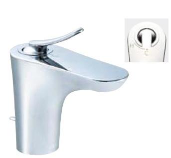 【最安値挑戦中!最大34倍】水栓金具 INAX LF-YB340SYN 洗面器・手洗器用 シングルレバー混合栓 FC・ワンホール エコハンドル 逆止弁付 寒冷地 ポップアップ式 [□]