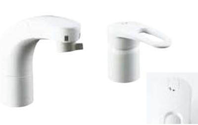 【最安値挑戦中!最大34倍】水栓金具 INAX SF-800SYNU 洗面器・手洗器用 FWP・洗髪タイプ(エコハンドル)ホース引出式シングルレバー 逆止弁付 寒冷地 [□]