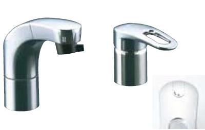 【最安値挑戦中!最大34倍】水栓金具 INAX SF-810SYU 洗面器・手洗器用 FWP・洗髪タイプ(エコハンドル)ホース引出式シングルレバー 逆止弁付 一般地 [□]