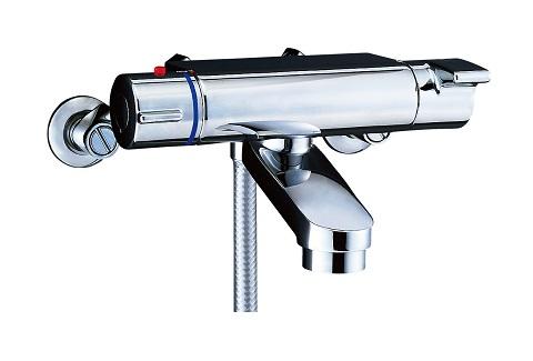 【最安値挑戦中!最大25倍】水栓金具 INAX BF-2147TKNSCW シャワーバス 洗い場専用 サーモスタット ヴィラーゴ 逆止弁付 寒冷地 [□]