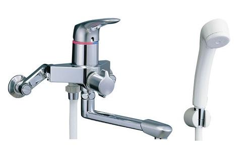 【最安値挑戦中!最大24倍】水栓金具 INAX BF-7135S シャワーバス 浴槽・洗い場兼用 シングルレバー アステシア 逆止弁付 一般地 [□]
