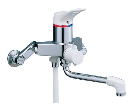 【最安値挑戦中!最大25倍】水栓金具 INAX BF-M135SN シャワーバス 浴槽・洗い場兼用 シングルレバー ミーティス 逆止弁付 寒冷地 [□]