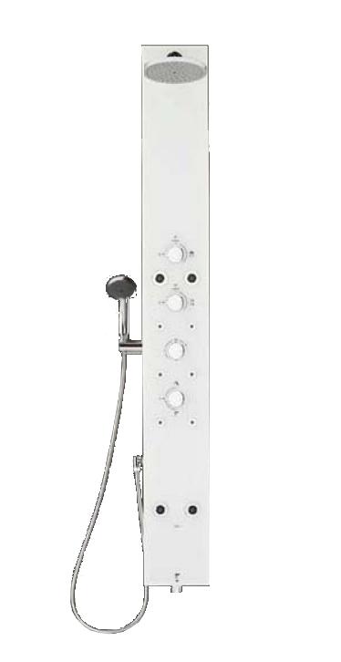 【最安値挑戦中!最大34倍】浴室シャワーパネル INAX BF-W12TLSCB/WC マットホワイト アクアネオ 点検口ストッパー付 一般地用 [□]