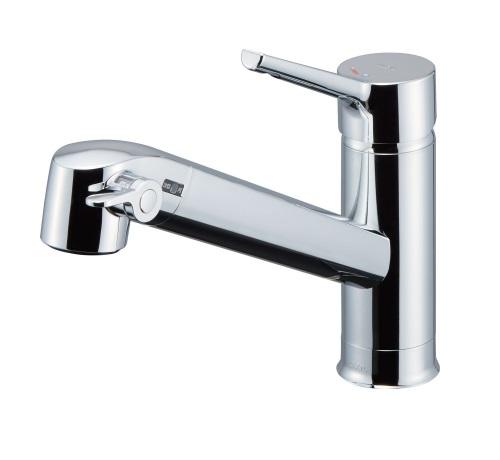 【最安値挑戦中!最大25倍】水栓金具 INAX JF-AF442SYX(JW) 浄水器内蔵型シングルレバー混合水栓 FSタイプ 一般地用 [◇]