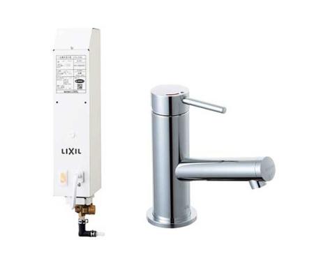 【最安値挑戦中!最大34倍】水栓金具 INAX LF-FE340SYC 即湯水栓・ほっとエクスプレス即湯システム eモダン(エコハンドル) 逆止弁 排水栓なし [□]