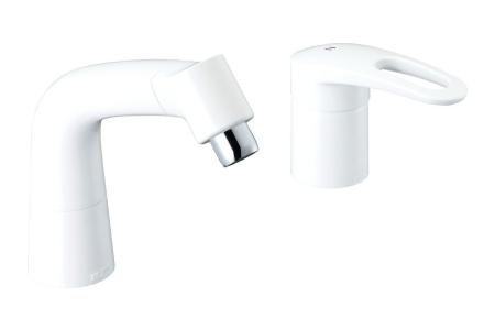 【最安値挑戦中!最大34倍】水栓金具 INAX LF-HX360SR/BW1 マルチシングルレバー混合 FWP/FYP洗面タイプ 一般地 [□]