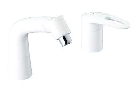 【最安値挑戦中!最大34倍】水栓金具 INAX LF-HX360SYR/BW1 マルチシングルレバー混合 FWP/FYP洗面 エコハンドル 一般地 [□]