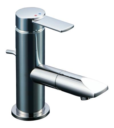 【最安値挑戦中!最大34倍】水栓金具 INAX LF-X340SR 洗面器・手洗器用 吐水口回転式シングルレバー混合水栓 FC・ワンホール 逆止弁付 一般地 ポップアップ式 [□]