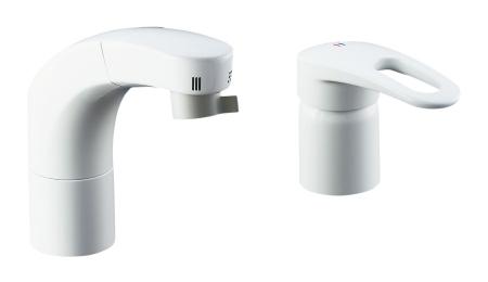 【最安値挑戦中!最大25倍】水栓金具 INAX SF-800SU 洗面器・手洗器用 FWP/洗髪タイプ ホース引出式シングルレバー洗髪シャワー混合水栓 逆止弁付 一般地 [□]