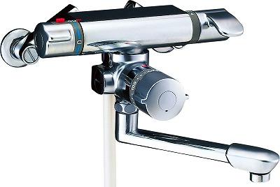 【最安値挑戦中!最大25倍】水栓金具 INAX BF-7140TNSD シャワーバス 浴槽・洗い場兼用 サーモスタット アステシア 逆止弁付 寒冷地 [□]