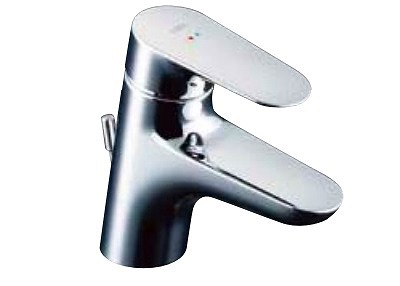 【最安値挑戦中!最大23倍】水栓金具 INAX LF-WF340SC 洗面器・手洗器用 クロマーレS 一般地・寒冷地共用 排水栓なし [□]