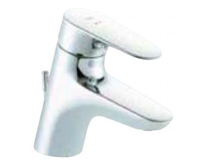 【最安値挑戦中!最大23倍】水栓金具 INAX LF-WF340SCHK シングルレバー混合水栓(湯側開度規制付) クロマーレS 排水栓なし 一般地・寒冷地共用 [□]