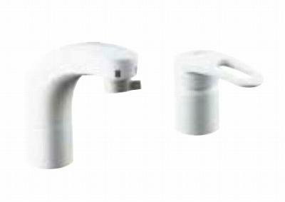 【最安値挑戦中!最大25倍】水栓金具 INAX SF-F800SYNU 即湯水栓・ほっとエクスプレス即湯システム FWP/洗髪タイプ(エコハンドル) 逆止弁 寒冷地用 [□]