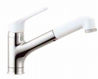 【最安値挑戦中!最大34倍】水栓金具 INAX SF-HE452SYXN キッチン用 ワンホールタイプ ノルマーレ(エコハンドル) 逆止弁 ハンドシャワー付 寒冷地 [□]