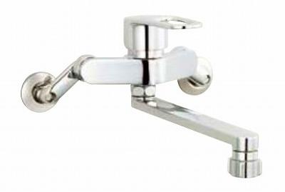 【最安値挑戦中!最大25倍】水栓金具 INAX SF-WM432SYN キッチン用 壁付 クロマーレS(エコハンドル) シャワー付 寒冷地 [□]