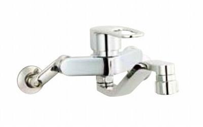 【最安値挑戦中!最大24倍】水栓金具 INAX SF-WM433SY キッチン用 壁付 クロマーレS(エコハンドル) シャワー付 一般地 [□]