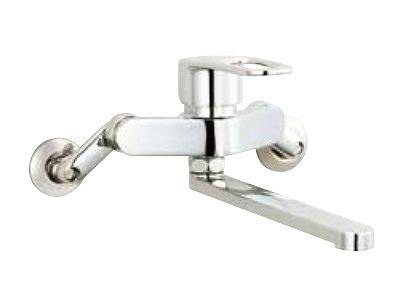 【最安値挑戦中!最大25倍】水栓金具 INAX SF-WM435SYN キッチン用 壁付 クロマーレS(エコハンドル) シングルレバー 吐水口長さ220mm 寒冷地 [□]