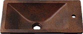 【最安値挑戦中!最大34倍】カクダイ 【493-010-M】 JEWEL BOX 瑠珠 角型手洗器 窯肌 [♪■]