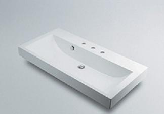 【最安値挑戦中!最大25倍】カクダイ 【493-071-1000】 JEWEL BOX CORPOSO 角型洗面器 3ホール [♪■]