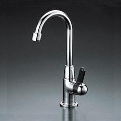 【最安値挑戦中!最大25倍】水栓 KVK K331N パーティーシンク用水栓 給水専用