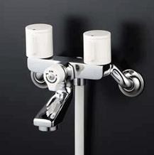 【最安値挑戦中!最大25倍】シャワー水栓 KVK KF2GN3 2ハンドルシャワー