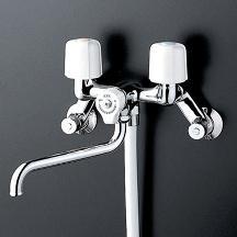 【最安値挑戦中!最大34倍】シャワー水栓 KVK KF30N2W 2ハンドルシャワー 寒冷地用
