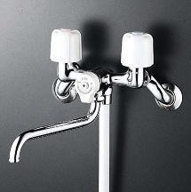 【最安値挑戦中!最大34倍】シャワー水栓 KVK KF30N2WZ 2ハンドルシャワー 寒冷地用