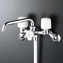 【最安値挑戦中!最大25倍】シャワー水栓 KVK KF40N2 2ハンドルシャワー