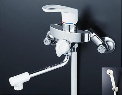 【最安値挑戦中!最大34倍】シャワー水栓 KVK KF5000 シングルレバー式シャワー