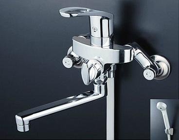 【最安値挑戦中!最大34倍】シャワー水栓 KVK KF5000ZT シングルレバー式シャワー