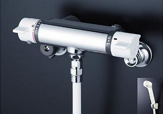 【最安値挑戦中!最大34倍】シャワー水栓 KVK KF800F 浴室シャワー水栓 サーモスタット式シャワー シャワー専用型
