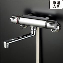 【最安値挑戦中!最大34倍】シャワー水栓 KVK KF800TS2 浴室シャワー水栓 サーモスタット式シャワー フルメッキワンストップシャワーヘッド付