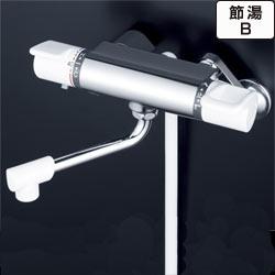 【最安値挑戦中!最大25倍】シャワー水栓 KVK KF880R2 浴室シャワー水栓 サーモスタット式シャワー 240mmパイプ付