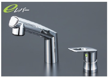 【最安値挑戦中!最大34倍】洗髪シャワー KVK KM5271TEC 洗面化粧室 シングルレバー式洗髪シャワー