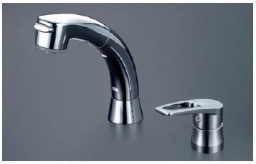 【最安値挑戦中!最大24倍】洗髪シャワー KVK KM5271TS2 洗面化粧室 シングルレバー式洗髪シャワー