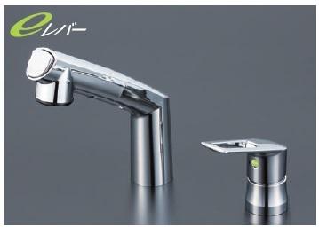 【最安値挑戦中!最大24倍】洗髪シャワー KVK KM5271ZTEC 洗面化粧室 シングルレバー式洗髪シャワー寒冷地用