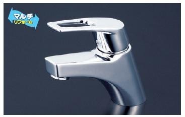 【最安値挑戦中!最大34倍】シングルレバー KVK KM7001TGS 洗面化粧室 洗面用シングルレバー式混合栓