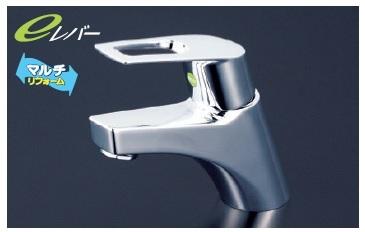 【最安値挑戦中!最大34倍】シングルレバー KVK KM7001ZTEC 洗面化粧室 洗面用シングルレバー式混合栓寒冷地用