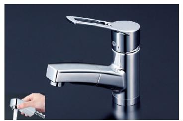【最安値挑戦中!最大23倍】シングルレバー KVK KM8001T 洗面化粧室 洗面用シングルレバー式混合栓